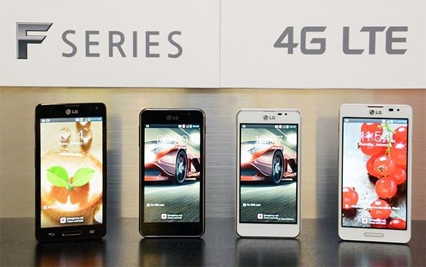 LG Optimus F5 en F7
