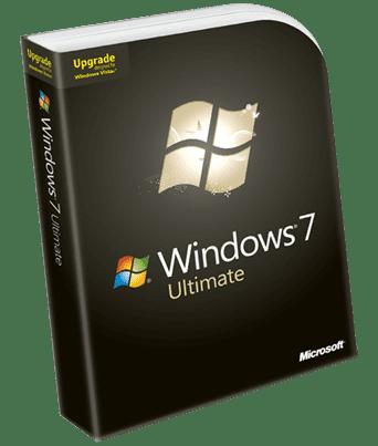 Microsoft Windows 7 Ultimate (UK Upgrade)
