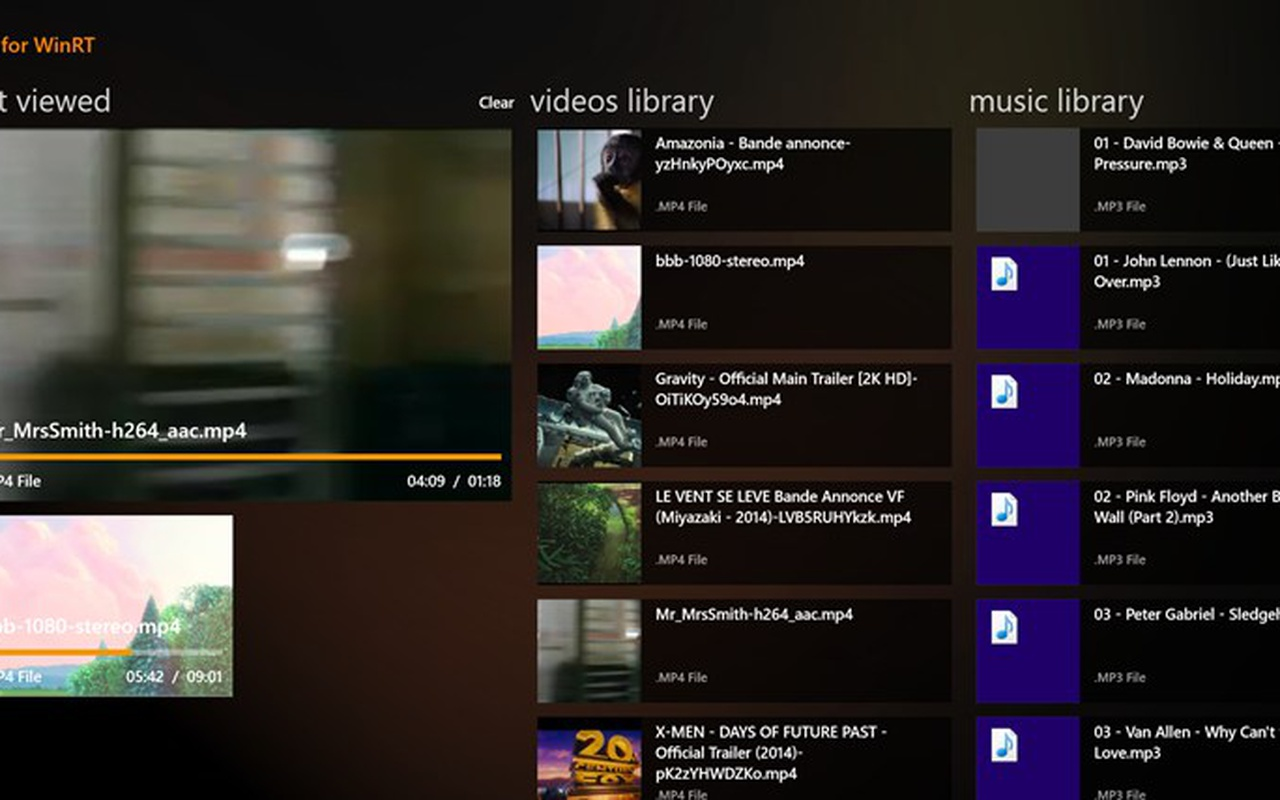VLC voor Windows 8