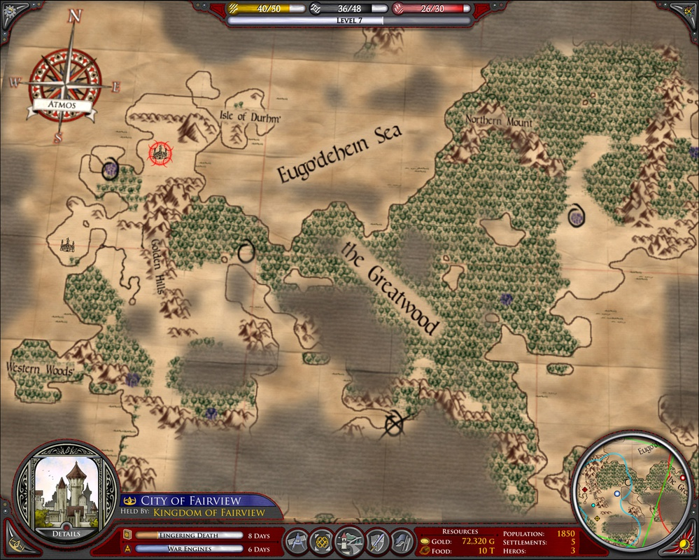 Galactic Civilizations II:  Endless Universe 2008 pc game Img-3