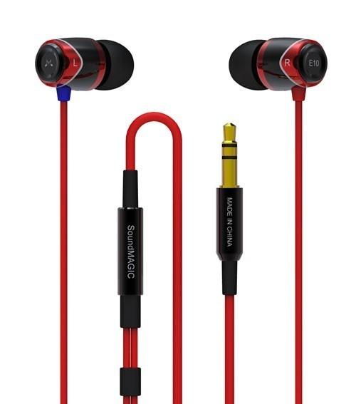 Soundmagic Soundmagic E10 Red (Rood)