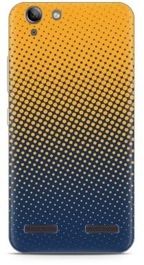 Just in Case Lenovo K5 Hoesje geel blauwe cirkels