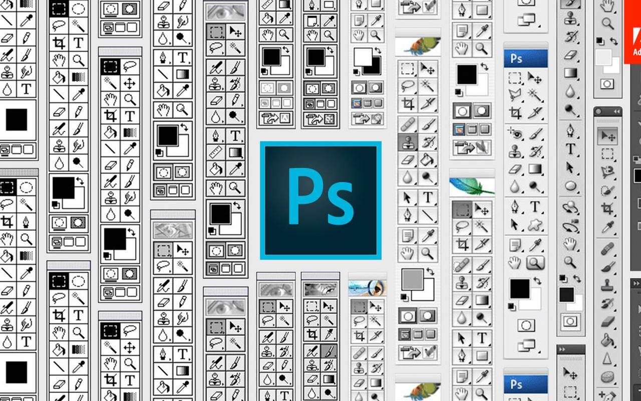 Photoshop-toolbars