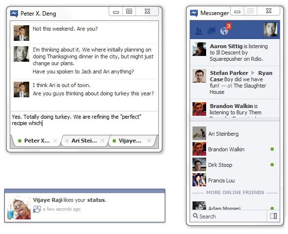 Facebook Messenger voor Windows
