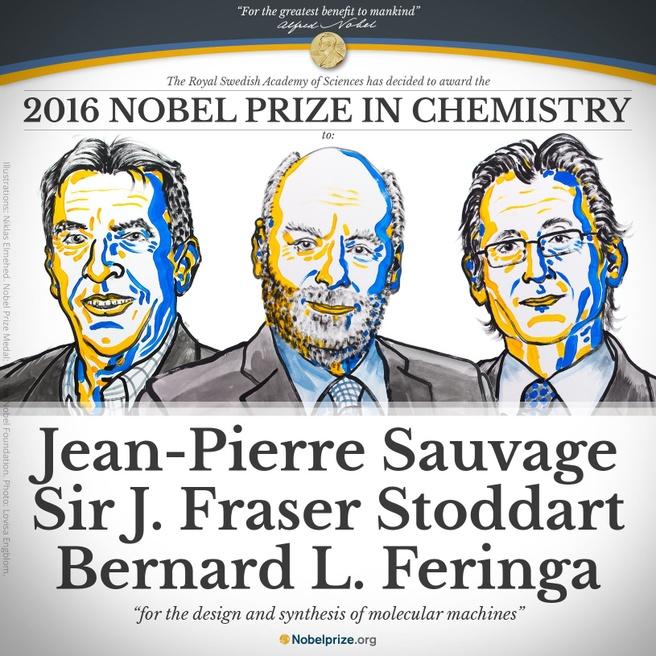 Nobelprijs 2016 Scheikunde