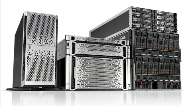 HP's Proliant Gen8-servers