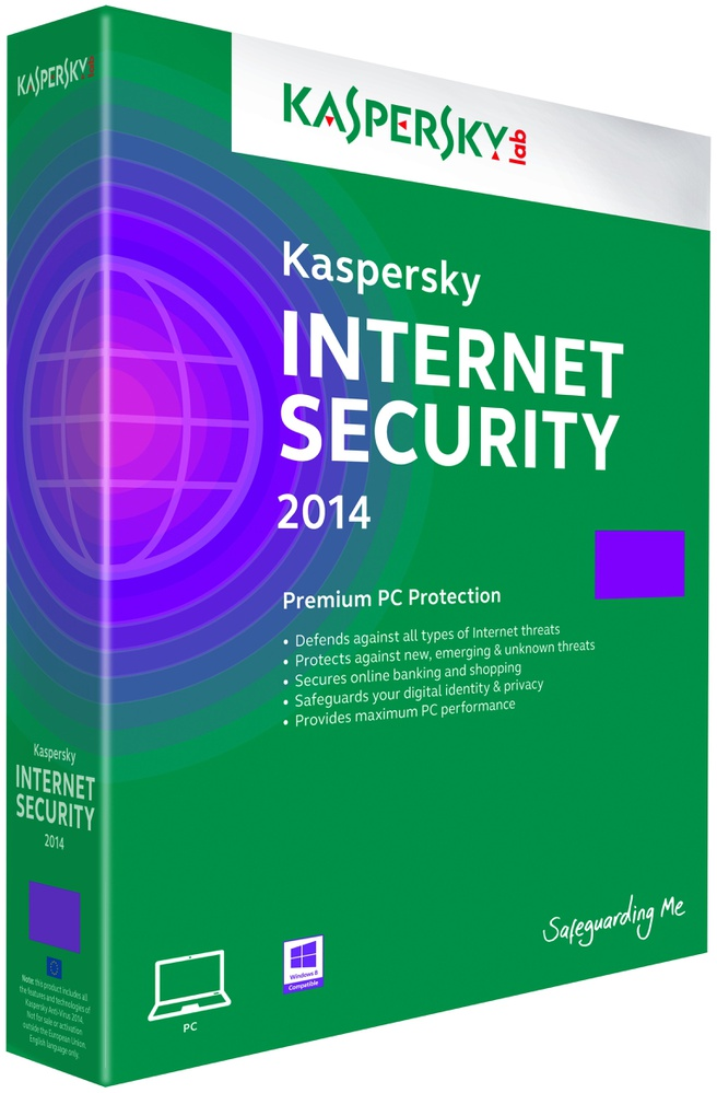 Kaspersky Internet Security 2014 (1 PC, 1 jaar, retail box)