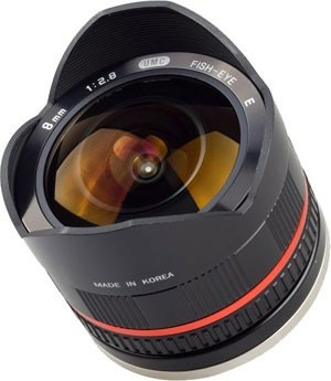 Samyang 8mm f/2,8 fisheye lens