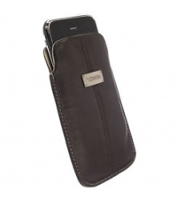Krusell Luna Pouch Brown/Sand Large