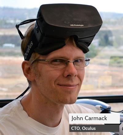 John Carmack met Oculus Rift