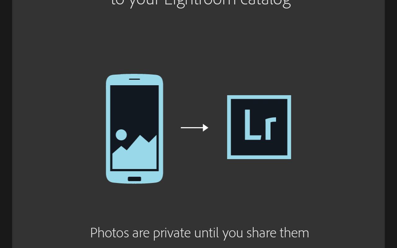 Lightroom voor Android-telefoons