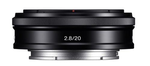 Sony E 20mm f/2,8 pancake lens