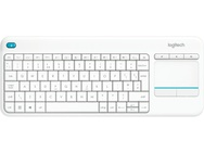 Logitech K400 Plus Wireless Touch Keyboard (Azerty FR) Wit