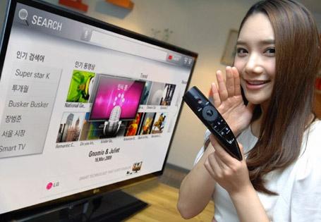 LG Magic Remote met spraakbesturing