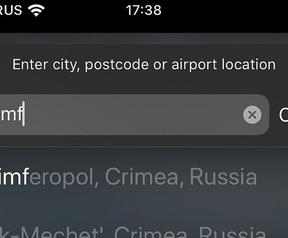 Apple Maps: Krim, Rusland