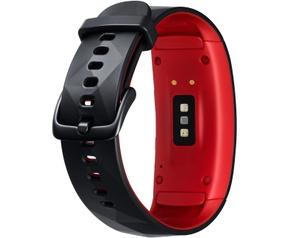 Samsung Gear Fit 2 Pro Large Zwart (Rood, Zwart)