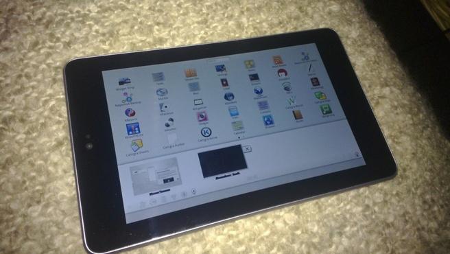Nexus 7 met Plasma Active