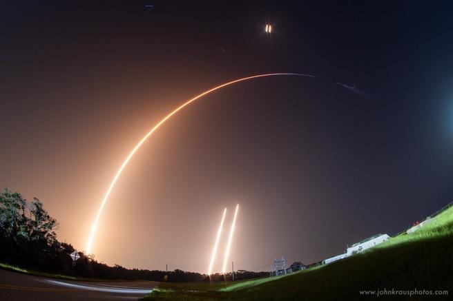 Falcon Heavy lancering juni 2019
