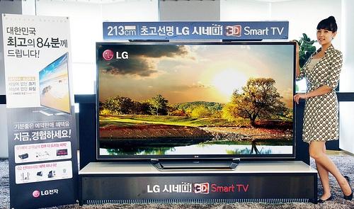 """LG 84LM9600 84""""-tv met 4k-resolutie"""