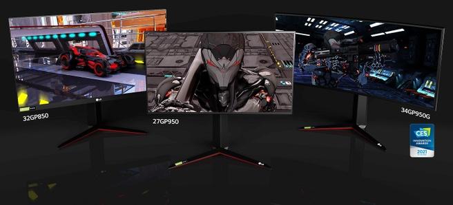 LG UltraGear monitoren CES 2021