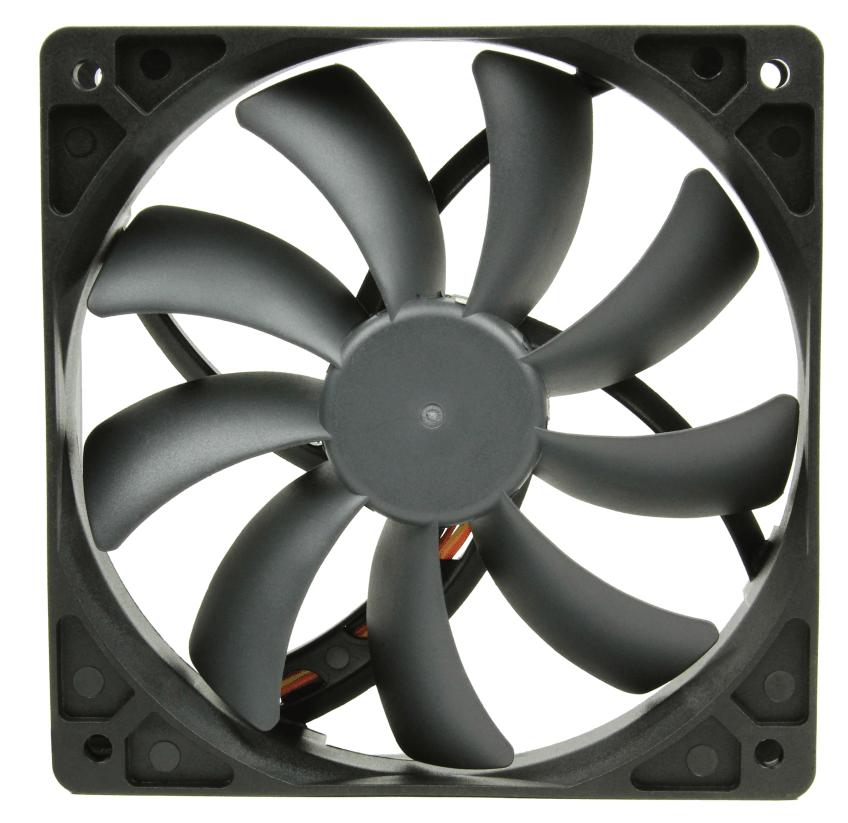 Scythe introduceert Slip Stream 120 DB ventilators