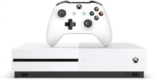 Microsoft Xbox One S 500GB + Shadow of Wars Wit