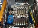 Koeler bestaande uit holle pijpen van CompTake