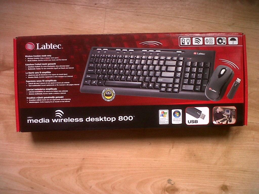 9aaa690840a Labtec Media Wireless Desktop 800 - Guven50 - Userreviews - Tweakers