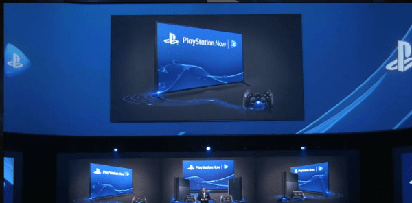 E3 conference PS now screenshot