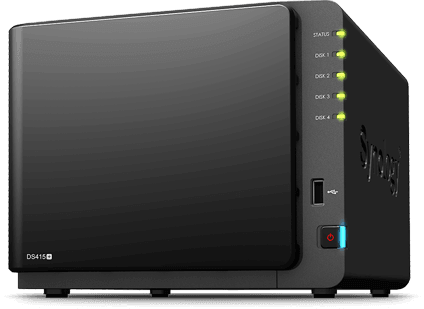 Synology DiskStation DS415+ 2x4TB WD Red, 4 Sloten 8TB