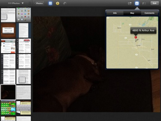 iPhoto Maps