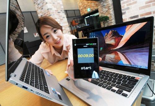 LG X Note Z350 en Z450