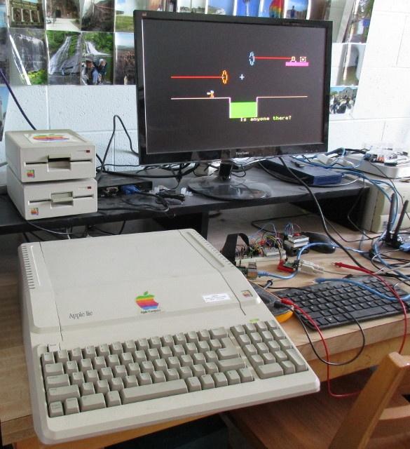 Apple IIe Portal
