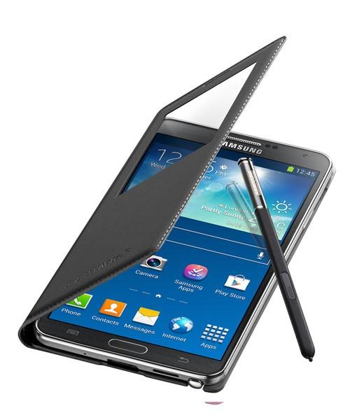 Samsung Samsung Galaxy Note 3 N9005 S View Cover EF-CN900BBEGWW Zwart
