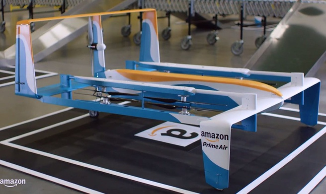 Amazon Prime Air drone - eind 2015