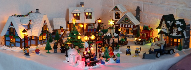 Lego winter sets with lights - LEGO Town - Eurobricks Forums