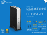 Intel NUC Kit DE3815TYKHE
