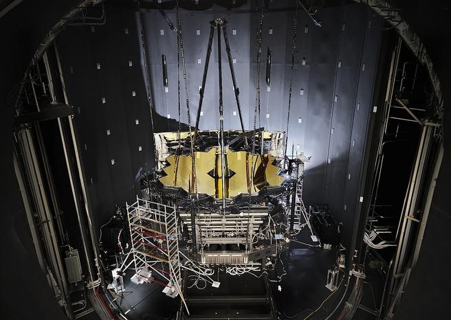 James Webb cryogene test