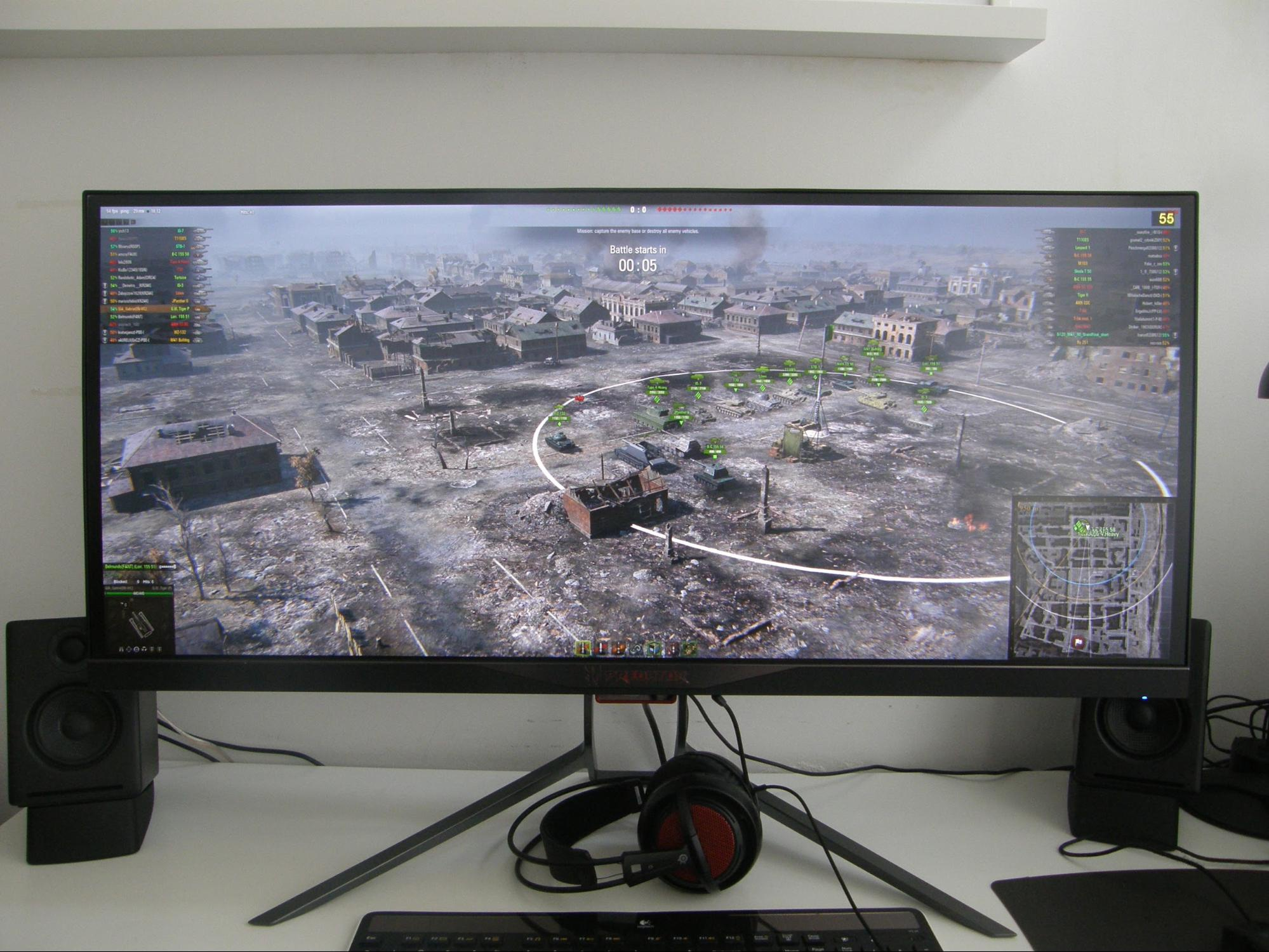 World of Tanks in 21:9