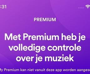 Spotify iOS-app