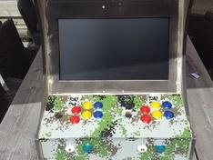 scherm in kast