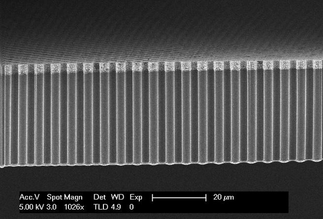 Zonnebrandstofcel silicium