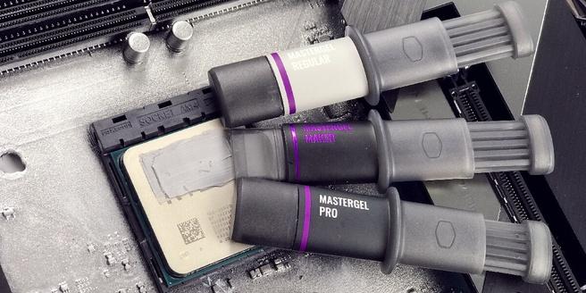Cooler Master MasterGel-varianten