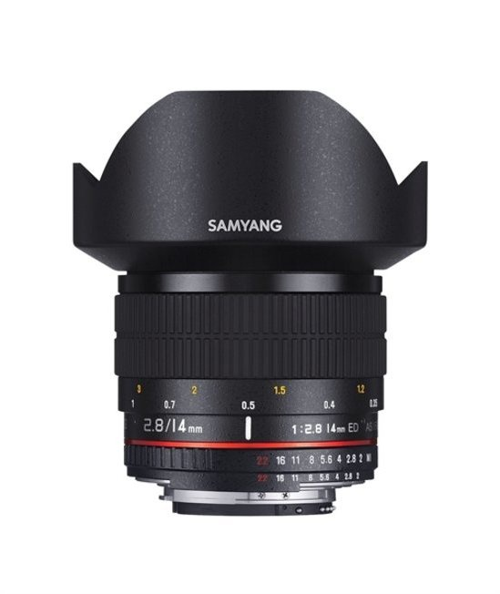 Samyang Optics 14mm f/2.8 ED AS IF UMC
