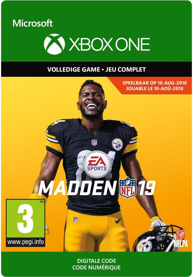 Madden NFL 19 (download), Xbox One