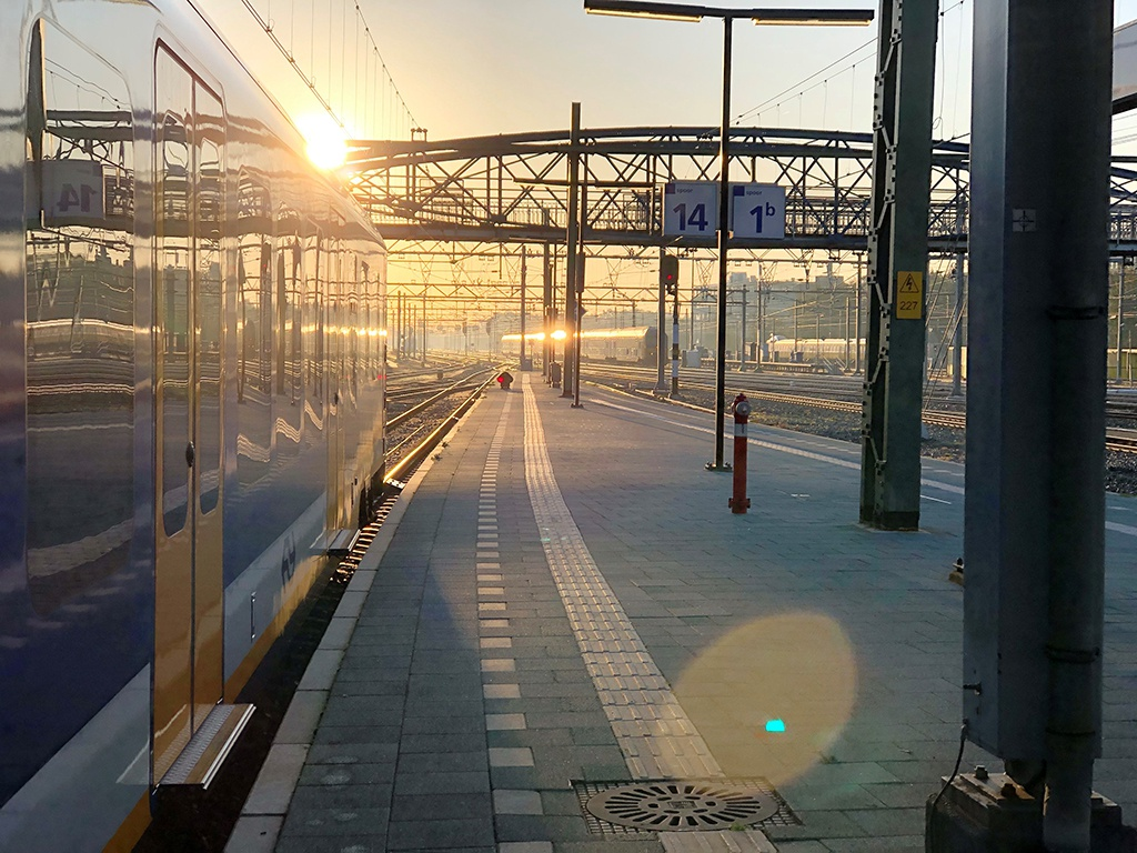 Herfst trein