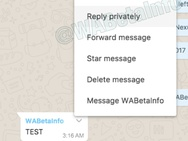 WhatsApp Web picrture-in-picture en privébeantwoorden