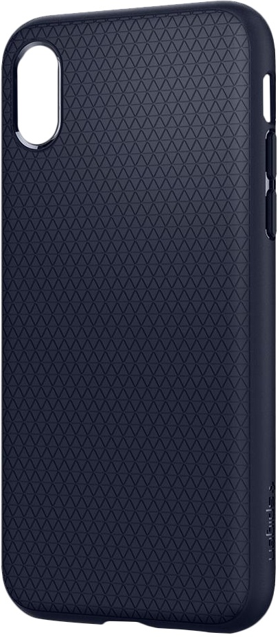 Spigen Apple iPhone X Hoesje Liquid Air Blauw