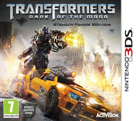 Packshot voor Transformers: The Dark of the Moon