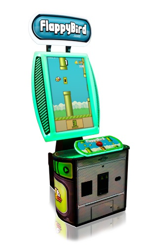 Flappy Bird arcadekast